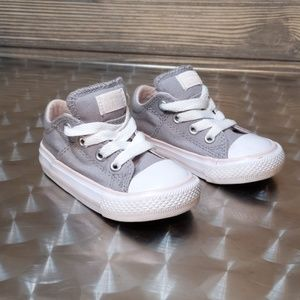 Converse All-Star Gray Toddler Shoes